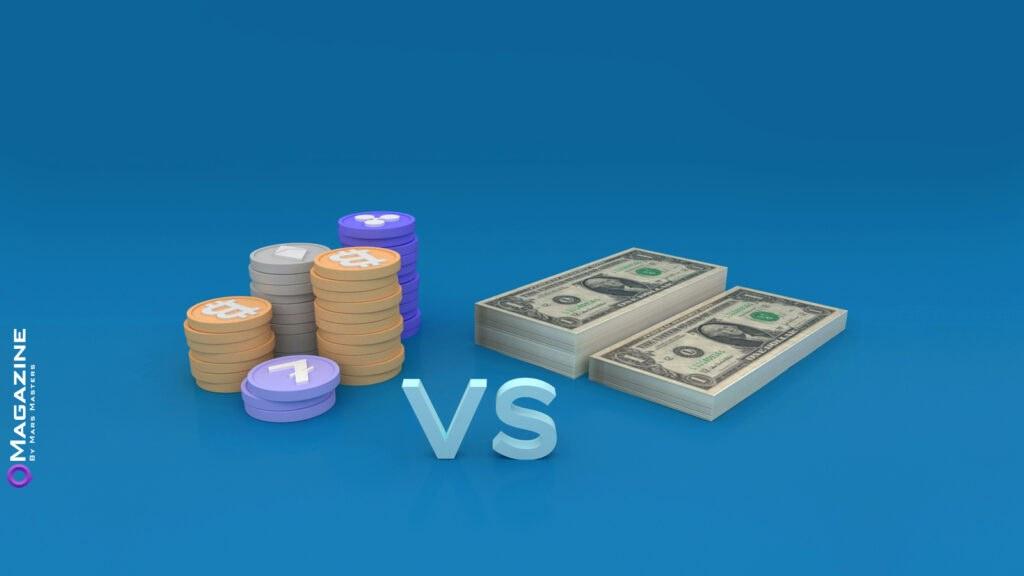 cryptocurrency VS money